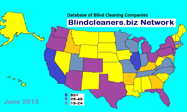 Blindcleaners Network Database Map 6 2013 SM